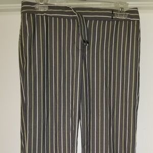 Express Design Studio Pin-Stripe Dress Pants